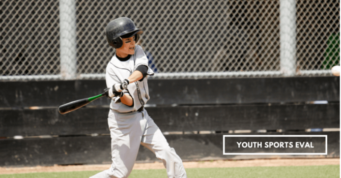 Youth or High School Sports Eval