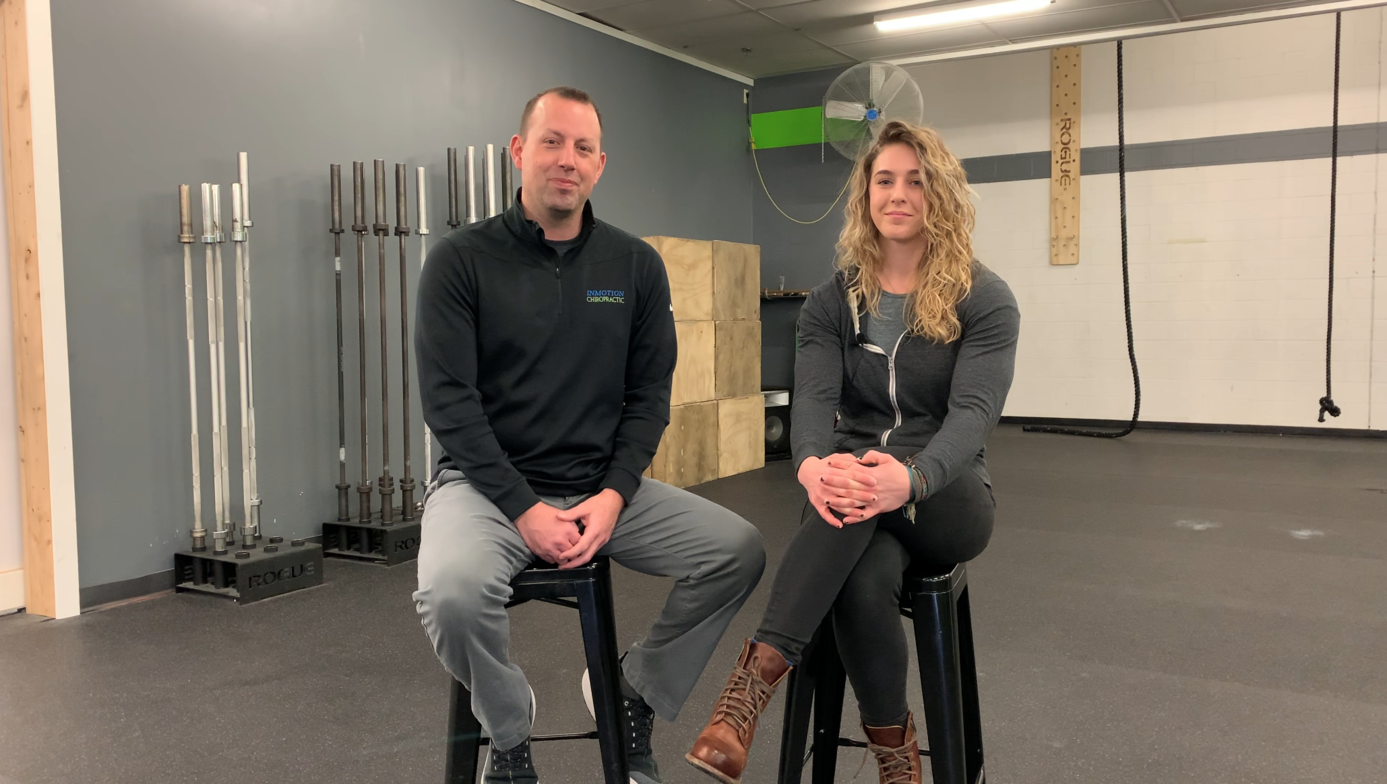 Dr. Carter with Hotova Crossfit