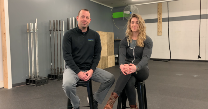 Dr. Bill Carter sits down with Melissa, one of the coaches at Hotova Crossfit in Buffalo MN. image