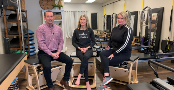 It's time to refine your strength, fitness and mind-body connection - Dr. Carter interviews Bobbi and Molly from Refine Pilates in Buffalo MN image