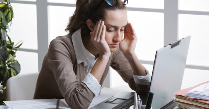 Stress & Headaches: What is the connection and how to avoid it. image